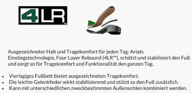 Ariat 4LR Technologie